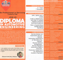 Diploma in Automotive Engineering