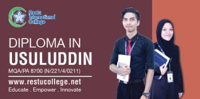 Diploma in Usuluddin