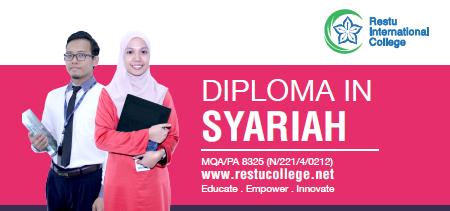 Diploma in Syariah Students