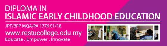 Diploma dalam Pendidikan Awal Kanak-kanak Islamik