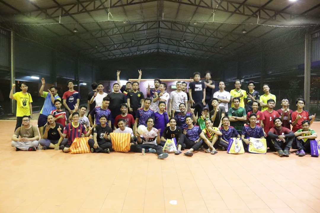 Pertandingan Futsal Restu International College